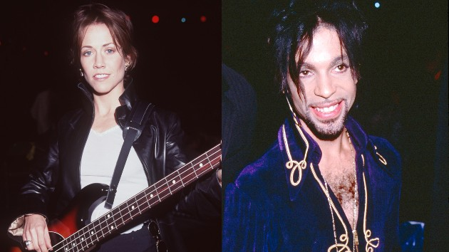 Sheryl: Ron Wolfson/Getty Images; Prince: Kevin Mazur/Getty Images