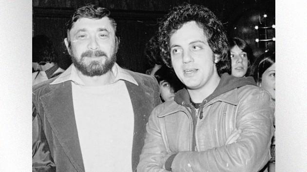 L-Walter Yetnikoff, R- Billy Joel; Bobby Bank/WireImage