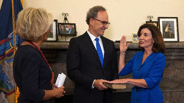 Mike Groll/Office of Governor Kathy Hochul