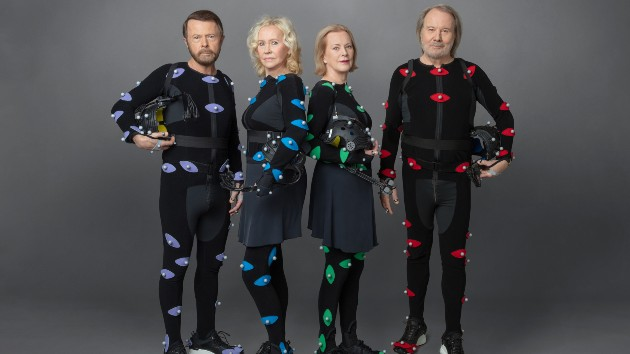 ABBA in 2021,  in motion-capture suits/Credit: Baillie Walsh